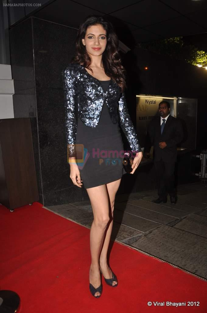 Simran Kaur Mundi at DVF-Vogue dinner in Mumbai on 22nd March 2012