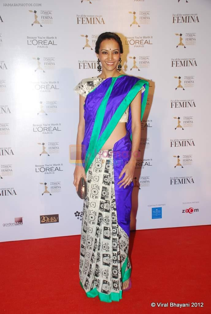 Dipannita Sharma at Loreal Femina Women Awards in Mumbai on 22nd March 2012