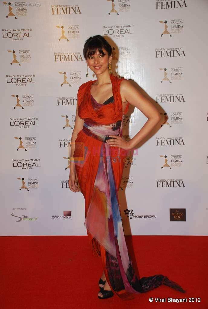 Aditi Raoi Hydari at Loreal Femina Women Awards in Mumbai on 22nd March 2012