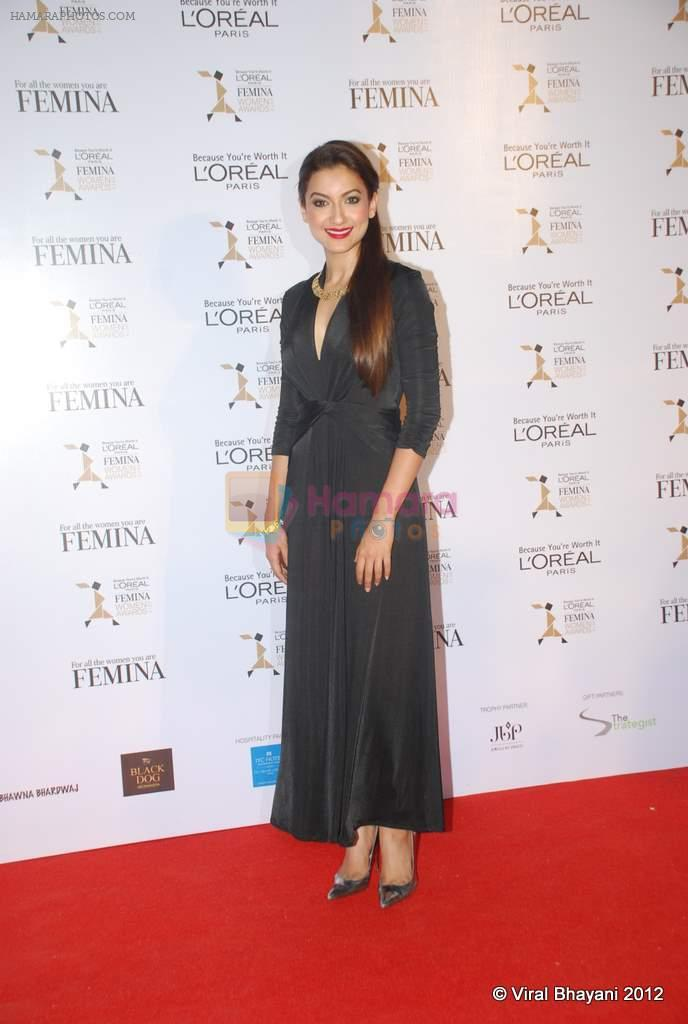 Gauhar Khan at Loreal Femina Women Awards in Mumbai on 22nd March 2012