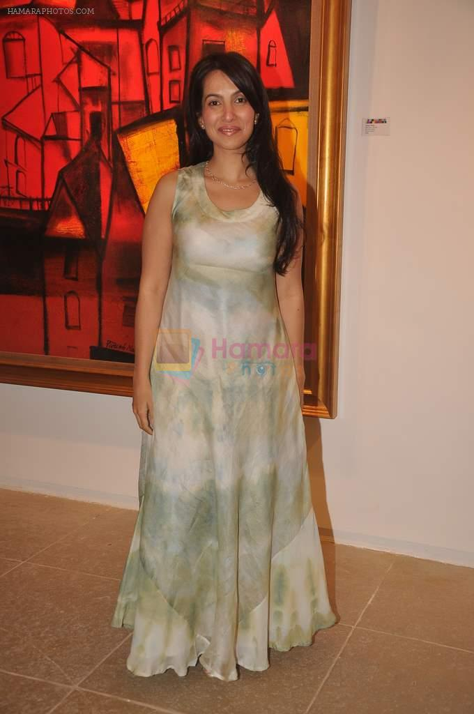 Shraddha Nigam at Paresh Maity art event in ICIA on 22nd March 2012