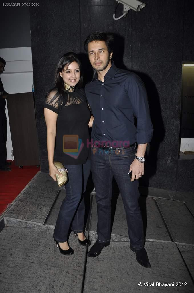 Rajneesh Duggal at DVF-Vogue dinner in Mumbai on 22nd March 2012