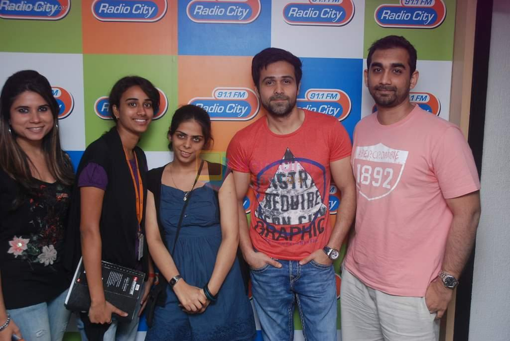 Emraan Hashmi at Jannat music launch in Radiocity, Mumbai on 22nd March 2012