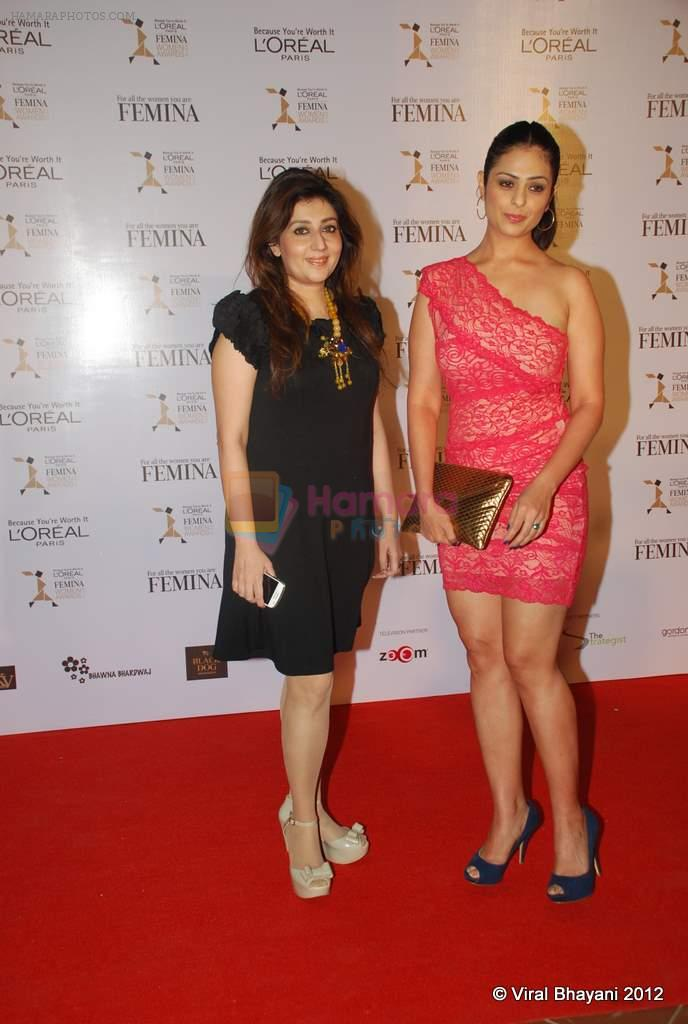 Anjana Sukhani at Loreal Femina Women Awards in Mumbai on 22nd March 2012