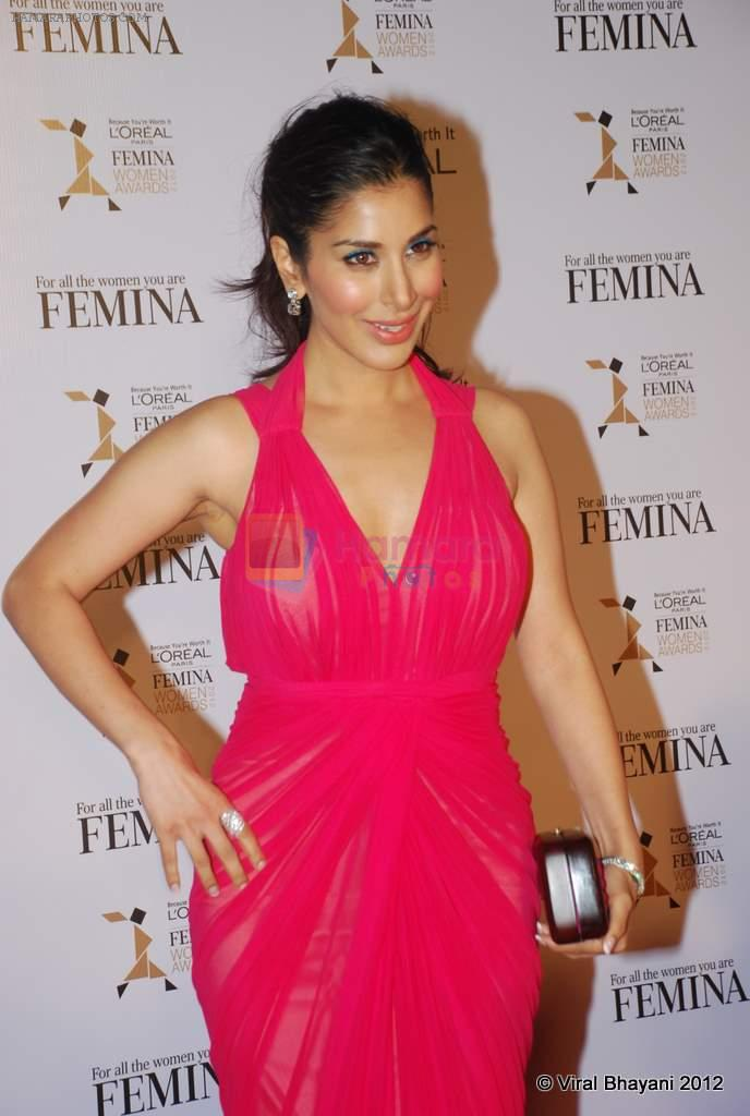 Sophie Chaudhary at Loreal Femina Women Awards in Mumbai on 22nd March 2012