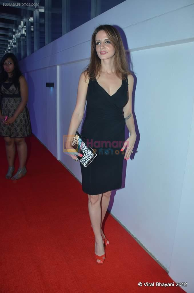 Suzanne Roshan at DVF-Vogue dinner in Mumbai on 22nd March 2012