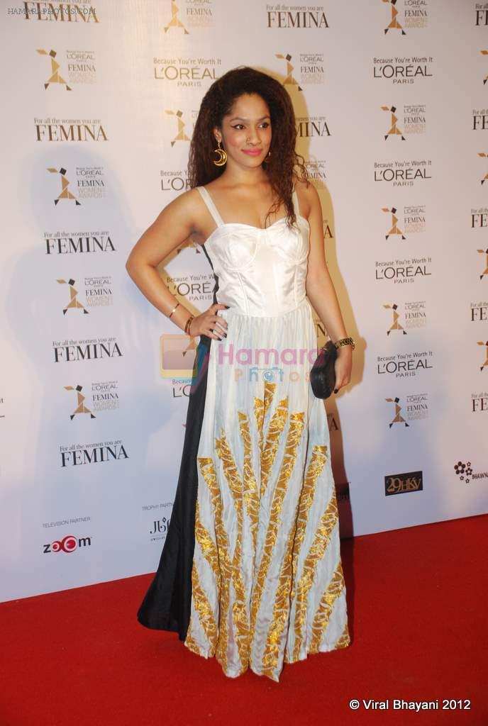 Masaba at Loreal Femina Women Awards in Mumbai on 22nd March 2012