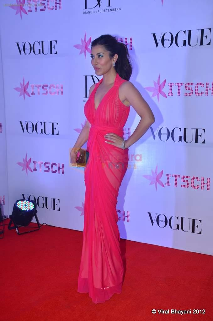 Sophie Chaudhary at DVF-Vogue dinner in Mumbai on 22nd March 2012