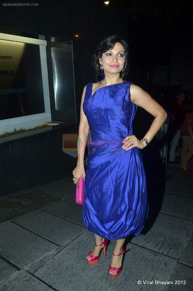 Maria Goretti at DVF-Vogue dinner in Mumbai on 22nd March 2012
