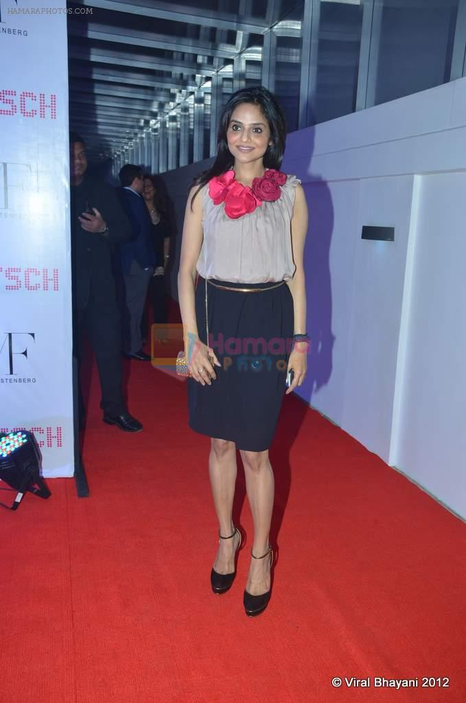 Madhoo Shah at DVF-Vogue dinner in Mumbai on 22nd March 2012