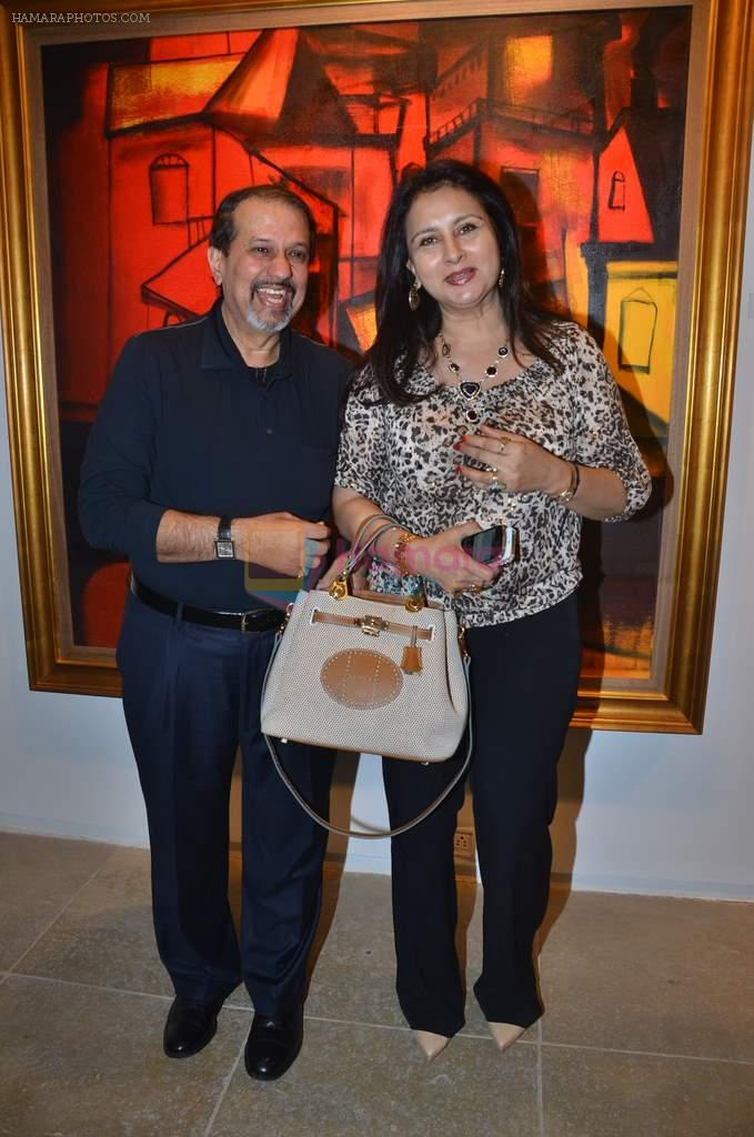 Poonam Dhillon at Paresh Maity art event in ICIA on 22nd March 2012