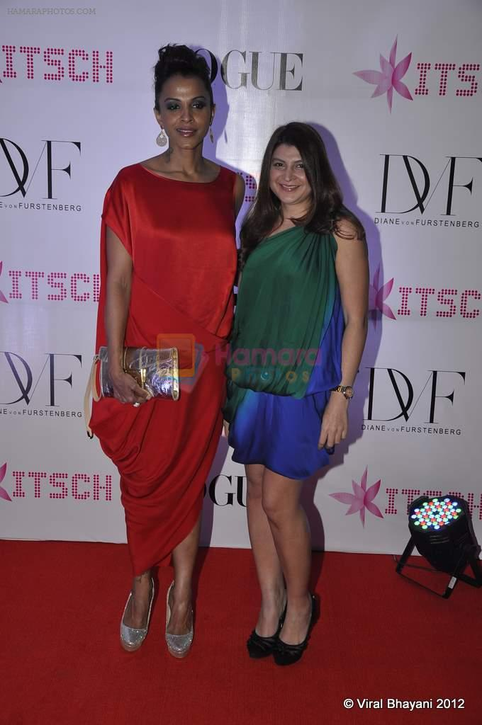 Mansi Scott at DVF-Vogue dinner in Mumbai on 22nd March 2012