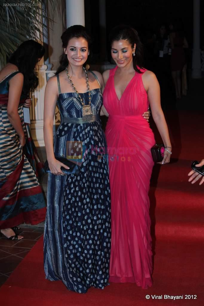 Dia Mirza, Sophie Chaudhary at Loreal Femina Women Awards in Mumbai on 22nd March 2012