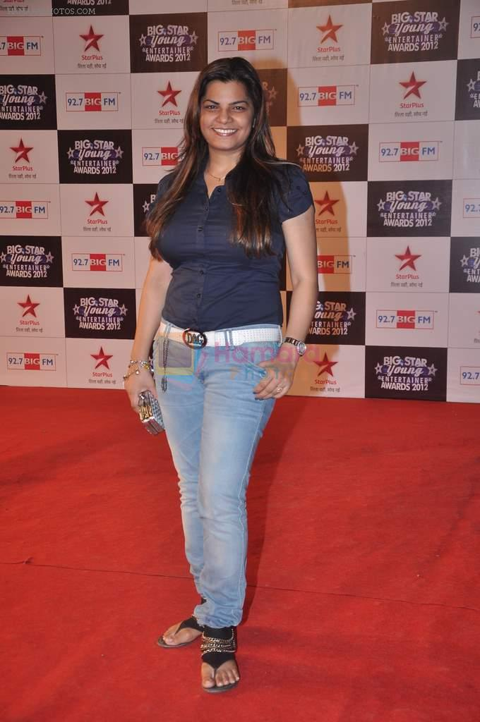 at Big Star Young Entertainer Awards in Mumbai on 25th March 2012