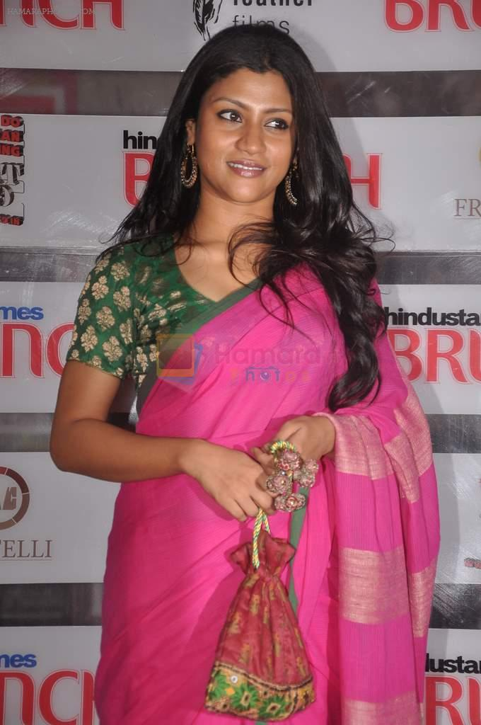 Konkana Sen Sharma at Shootout At Wadala promotions in HT Brunch on 26th March 2012