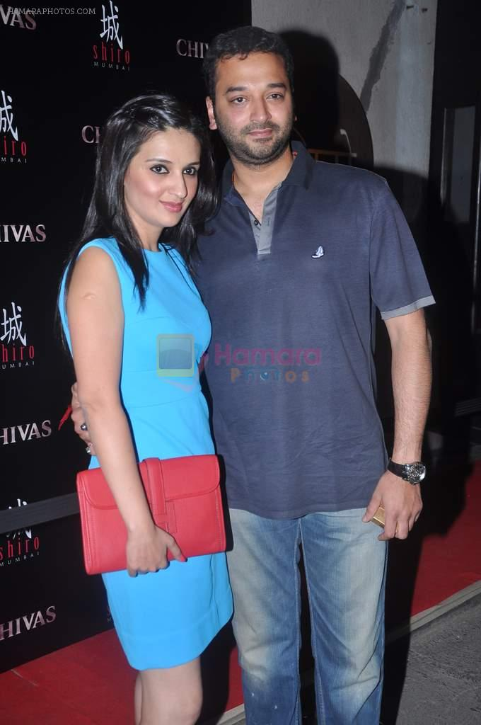 Anu Dewan at Arjun and Rohit Bal's bash in Shiro, Mumbai on 28th March 2012