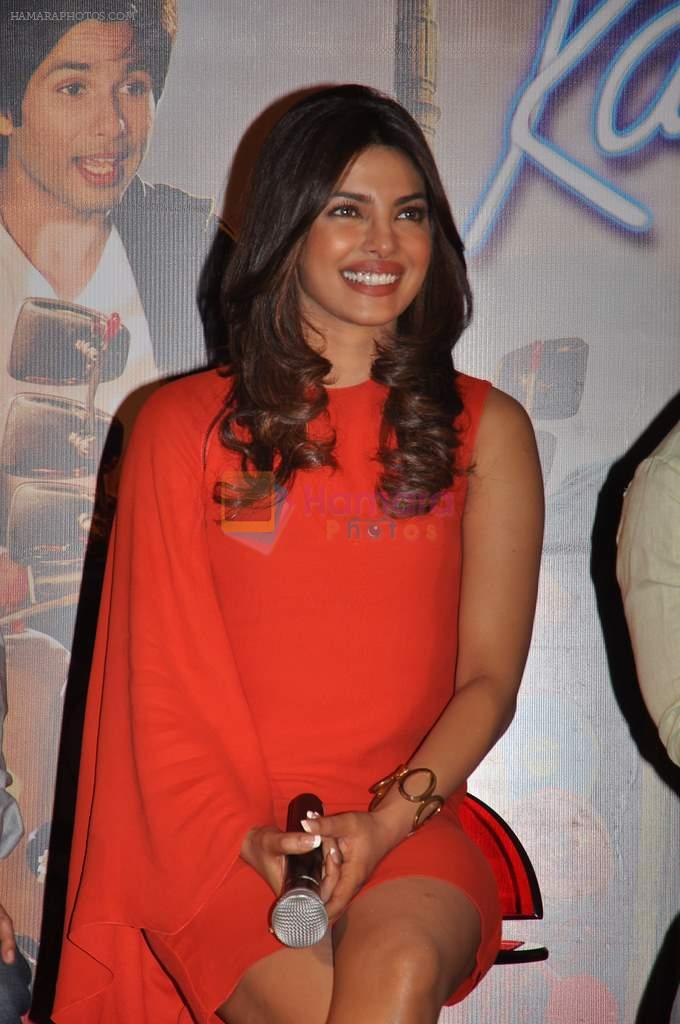 Priyanka Chopra at Teri Meri Kahaani theatrical trailor launch in Cinemax, Mumbai on 5th April 2012