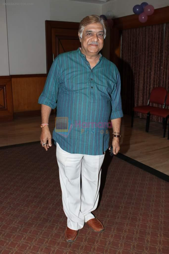 Anjan Shrivastava at Anjan Shrivastava birthday in Raheja Classic, Mumbai on 2nd May 2012