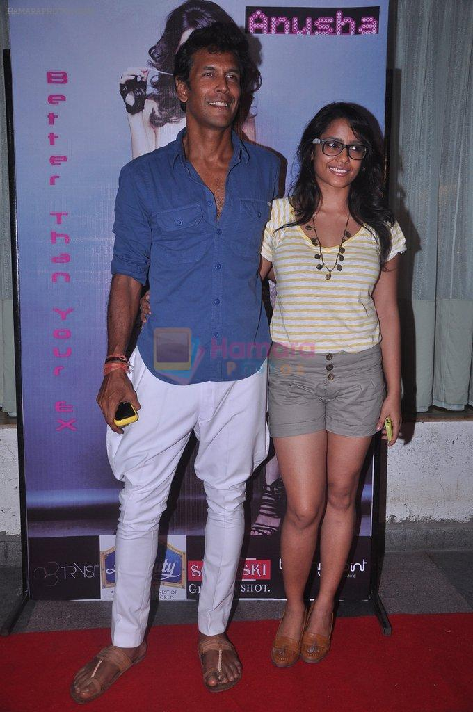 Milind Soman, Shahana Goswami at Anusha Dandekar album launch in Tryst, Mumbai on 5th June 2012