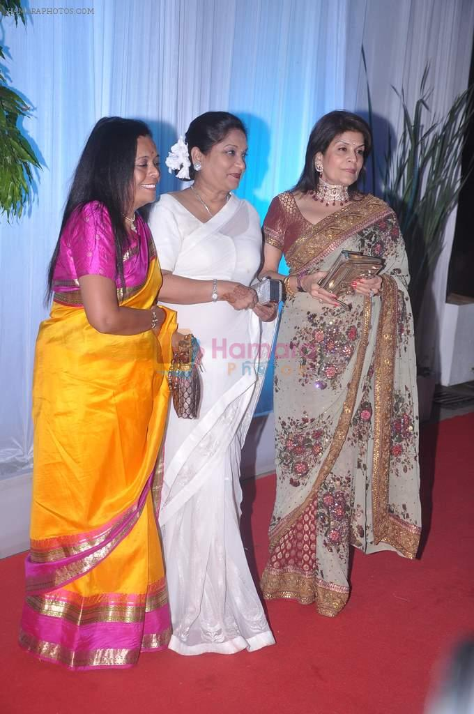 at Esha Deol's wedding reception in five-star hotel,Mumbai on 30th June 2012