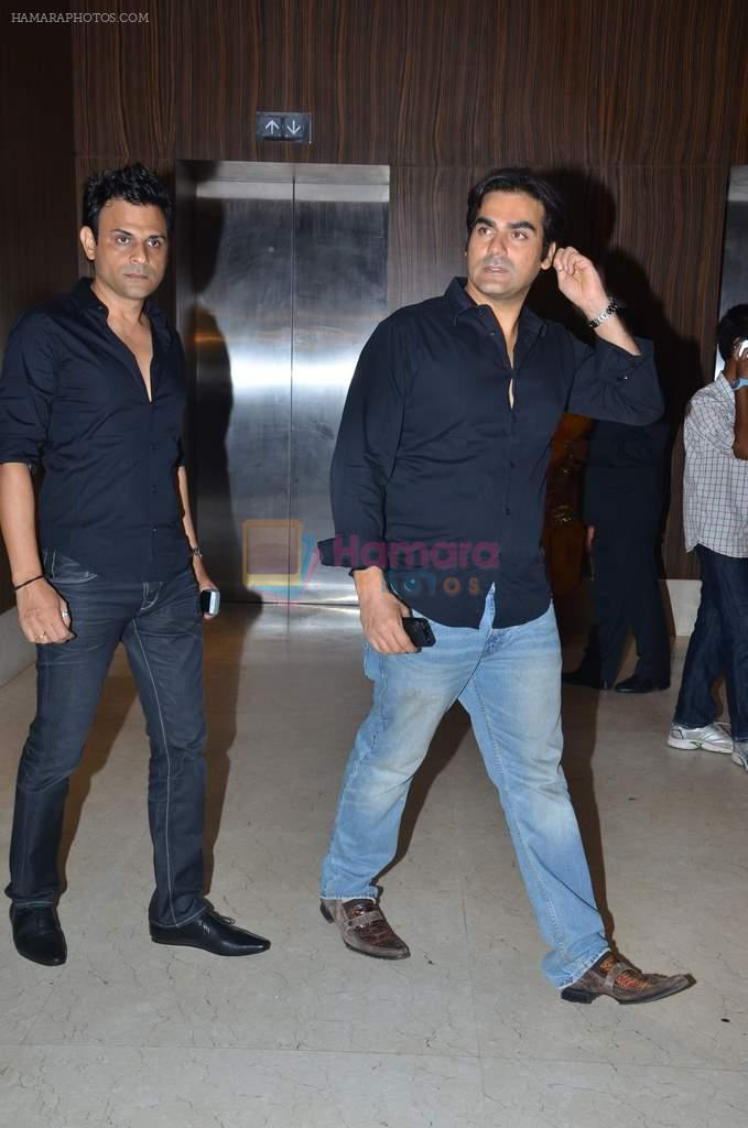 Arbaaz Khan at Suraj Godambe's wedding reception on 30th June 2012