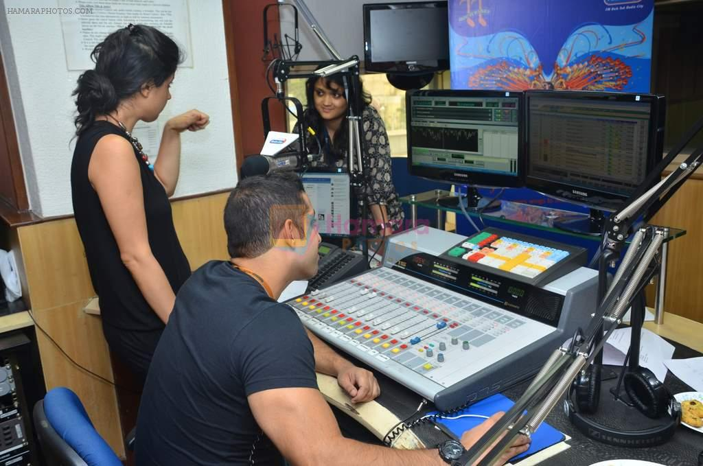 RJ Salil Acharya, RJ Archana at Radio City anniversary in Bandra, Mumbai on 4th July 2012