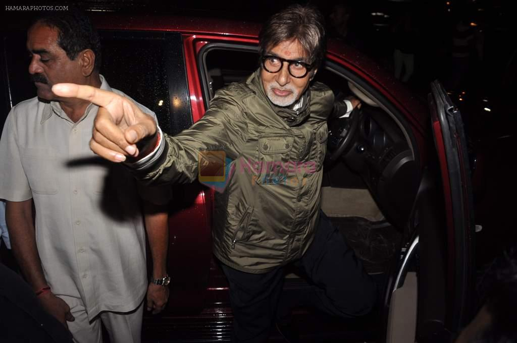 Amitabh Bachchan at the special screening of Bol Bachchan in Cinemax, Mumbai on 5th July 2012