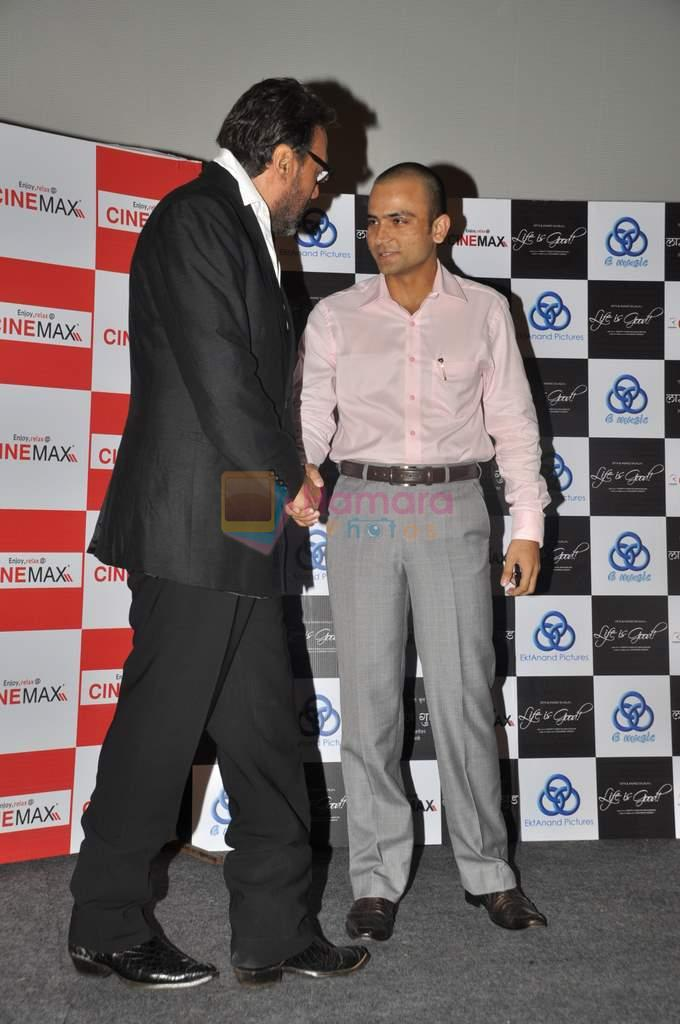 Jackie Shroff at Life is Good first look in Cinemax, Mumbai on 5th July 2012