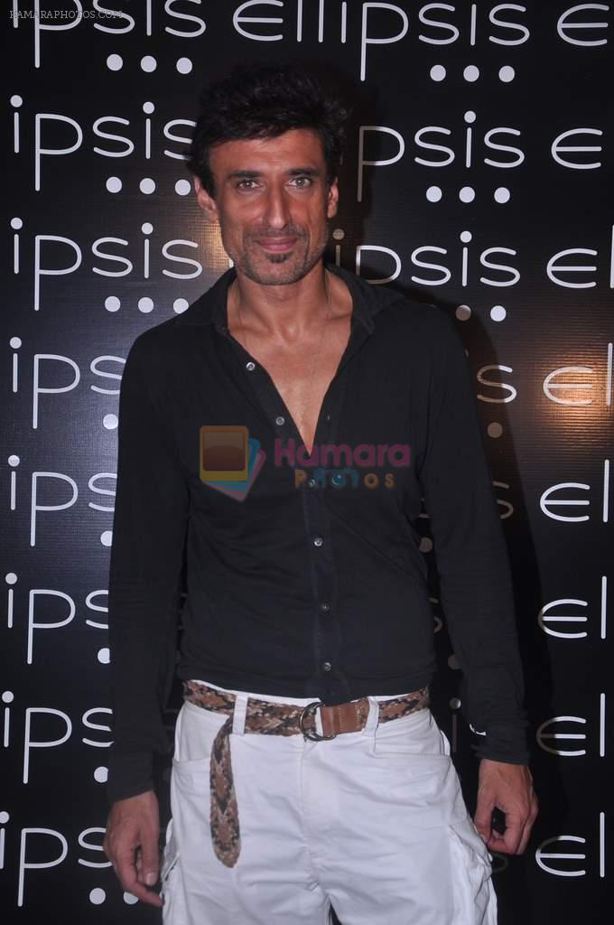 Rahul Dev at Ellipsis launch hosted by Arjun Khanna in Mumbai on 6th July 2012