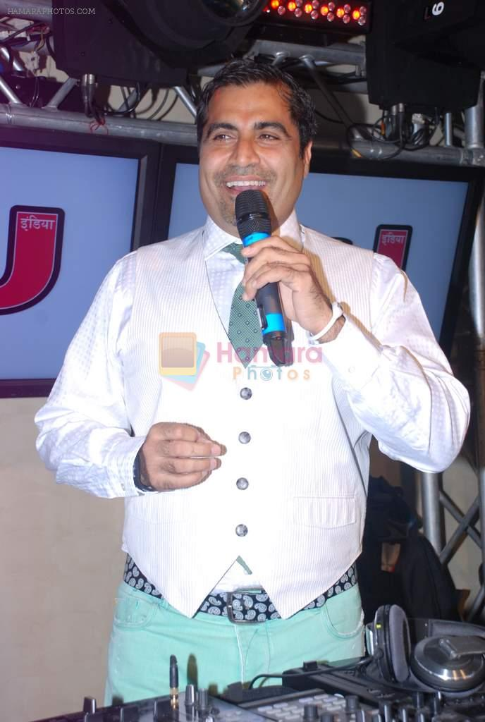 Shailendra Singh at DJ magazine launch in F Bar on 6th July 2012