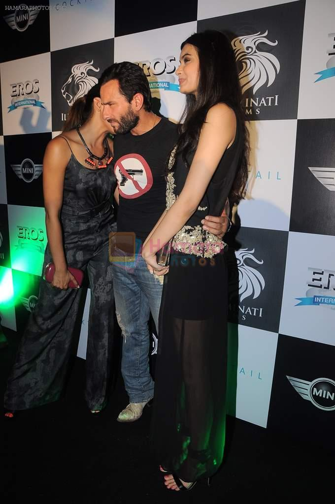 Deepika Padukone, Saif Ali Khan, Diana Penty at the Cocktail bash in Santacruz, Mumbai on 6th July 2012
