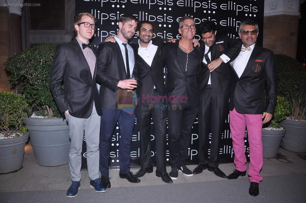 Arjun Khanna at Ellipsis launch hosted by Arjun Khanna in Mumbai on 6th July 2012