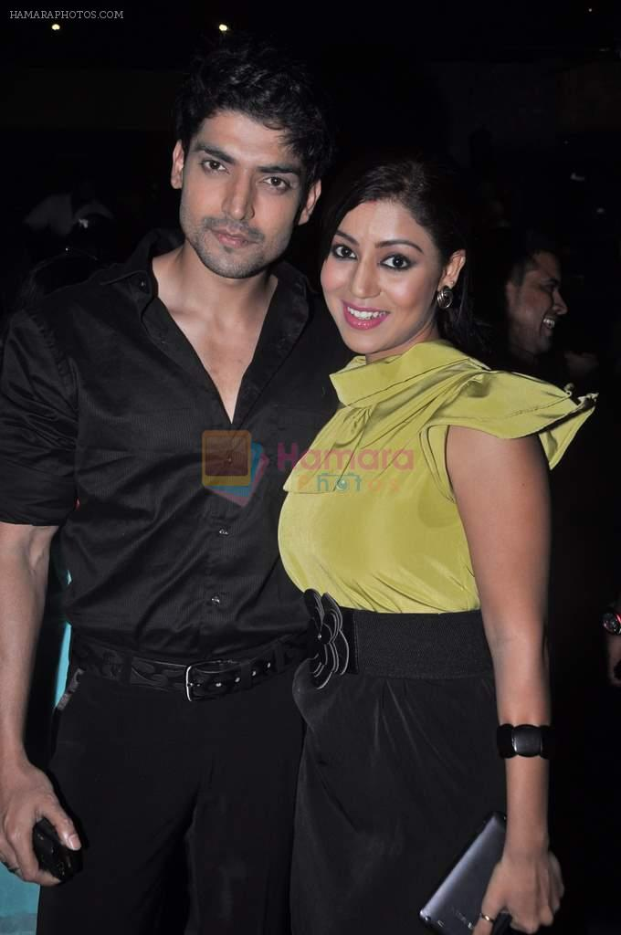 Debina and Gurmeet Chaudhary at Punar Vivah serial success party in Mumbai on 7th July 2012