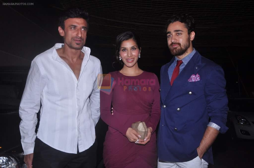 Rahul Dev, Sophie Chaudhary, Imran Khan at Nari Hira's birthday bash in his Residence, Mumbai on 7th July 2012