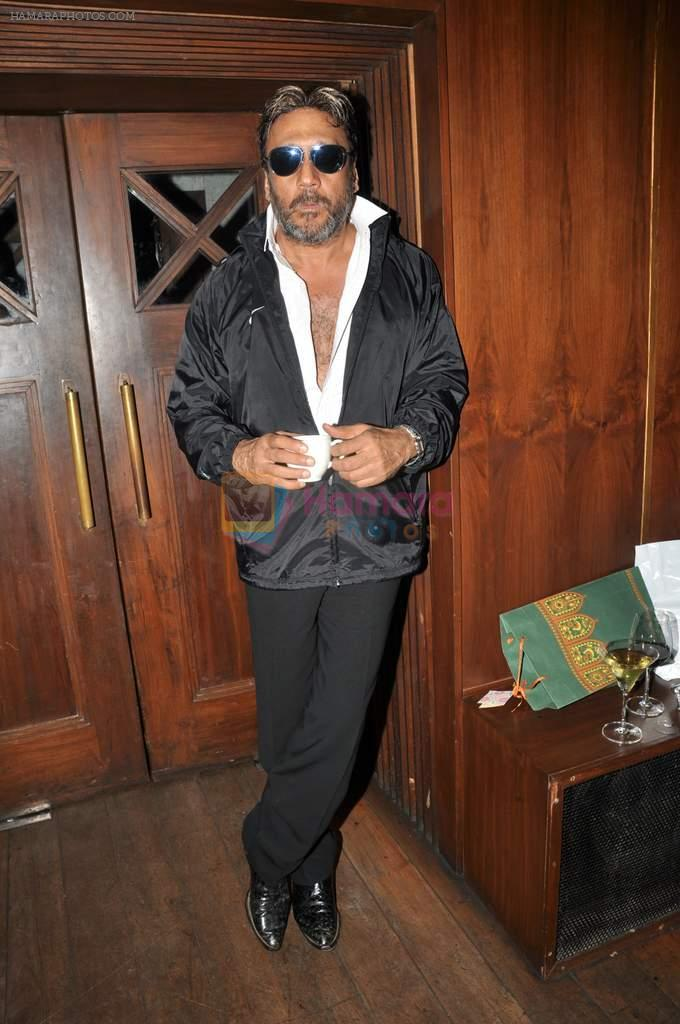 Jackie Shroff at Vivek Vaswani's birthday bash in Tote, Mumbai on 8th July 2012