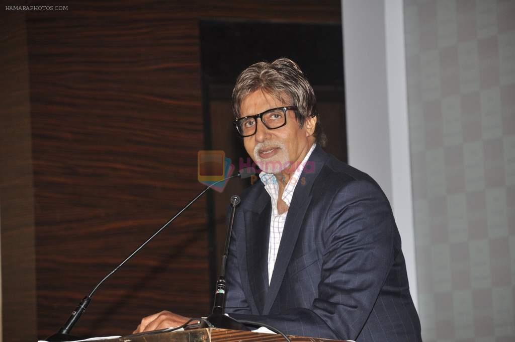 Amitabh Bachchan at Blockbuster magazine launch in Novotel, Mumbai on 8th July 2012