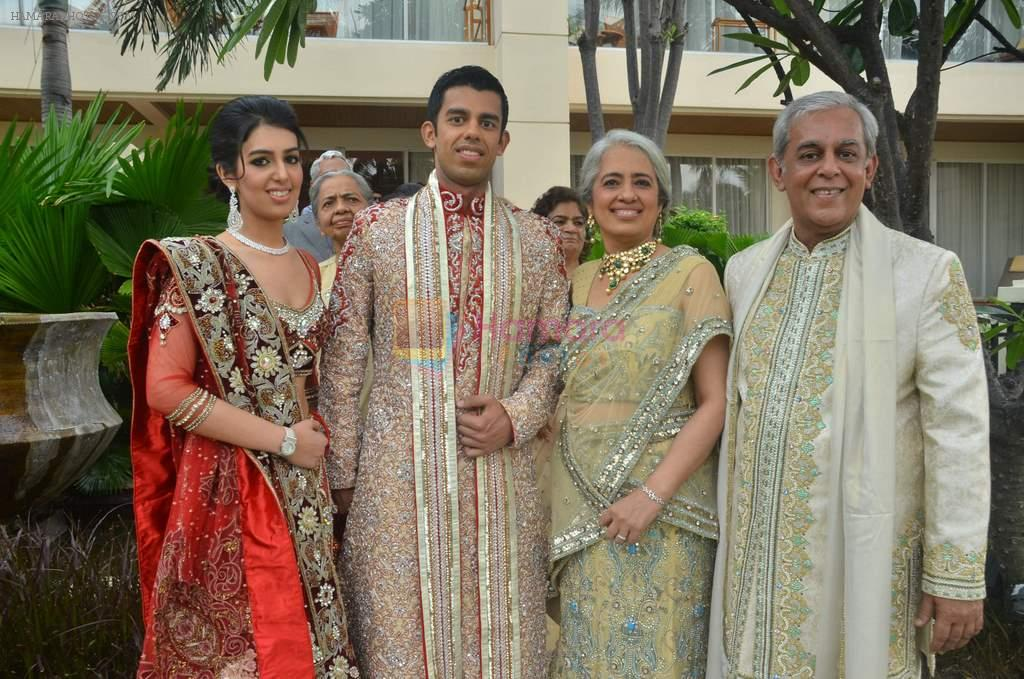 at Varun and Michelle's wedding in Banyan Golf Club, Thailand on 9th July 2012