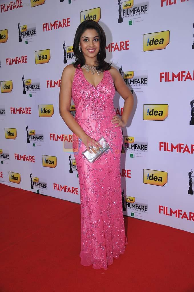 Richa Gangopadhyay at the Red Carpet of _59th !dea Filmfare Awards 2011_