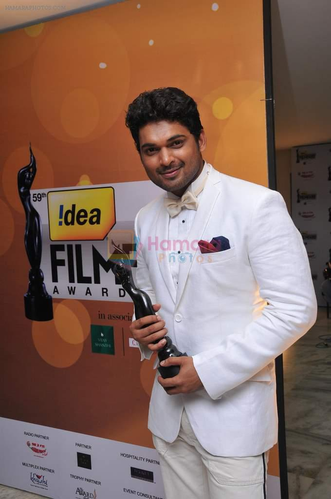 Ajmal Ameer received BEST ACTOR IN A SUPPORTING ROLE (MALE ) at _59th !dea Filmfare Awards 2011_