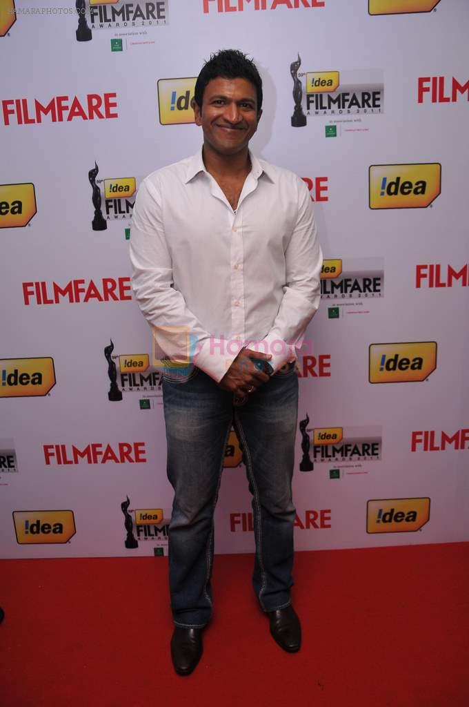 Puneeth Rajkumar received the Best Actor (Male) Kannada Award for the film _Hudugaru_ at the _59th !dea Filmfare Awards 2011_