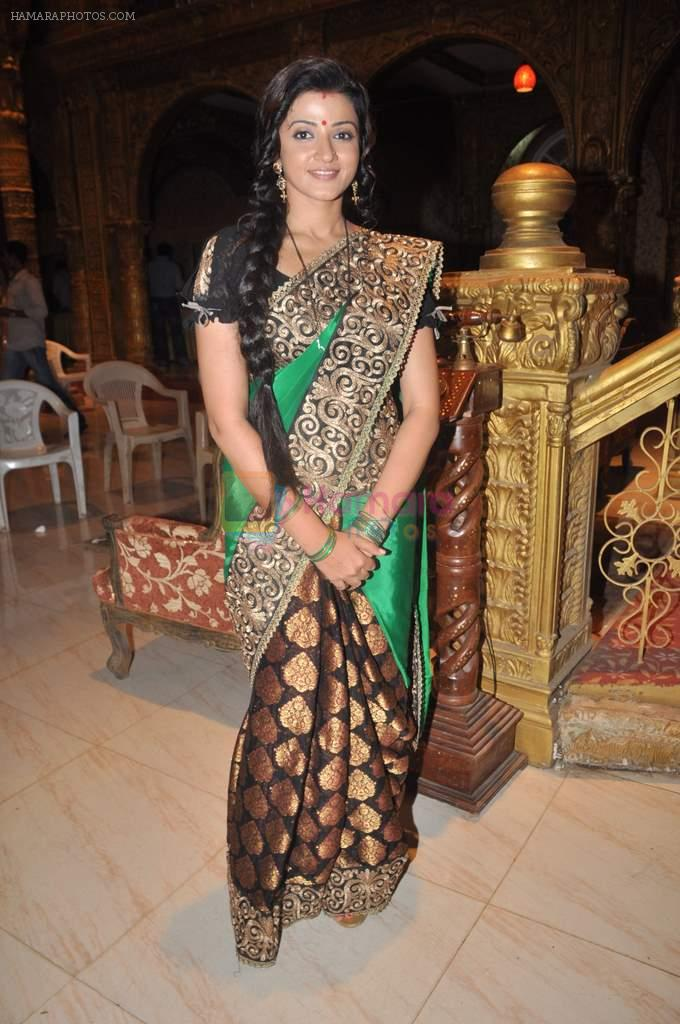 Suhasi Goradia Dhami at Yahan Main Ghar Ghar Kheli 700 episodes celebrations in Filmcity, Mumbai on 10th July 2012