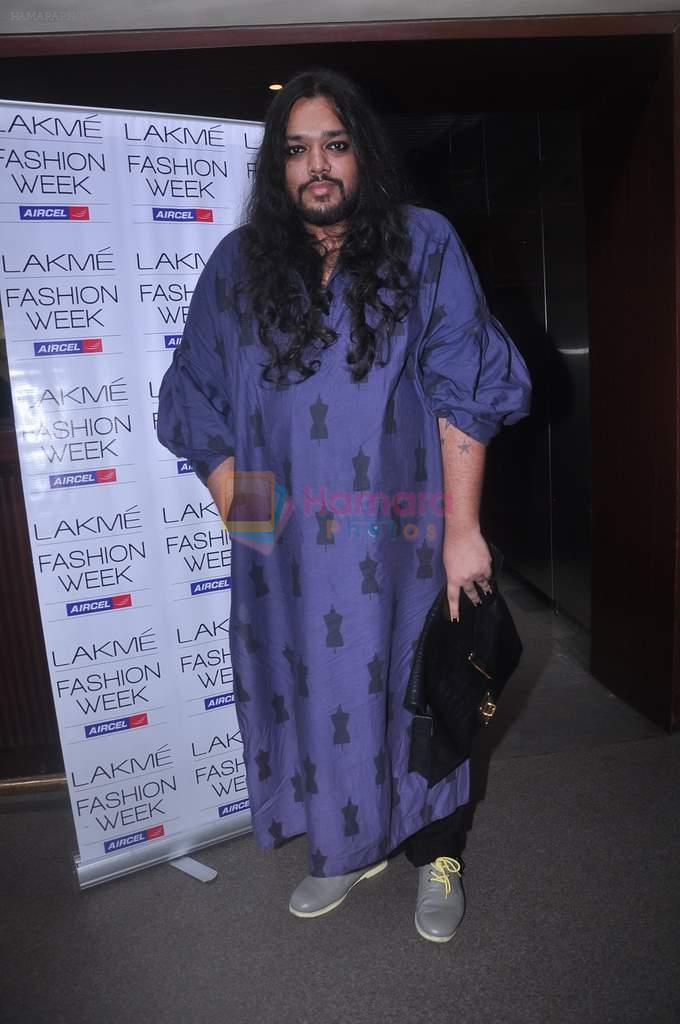 at Lakme fashion week press meet in Mumbai on 10th July 2012