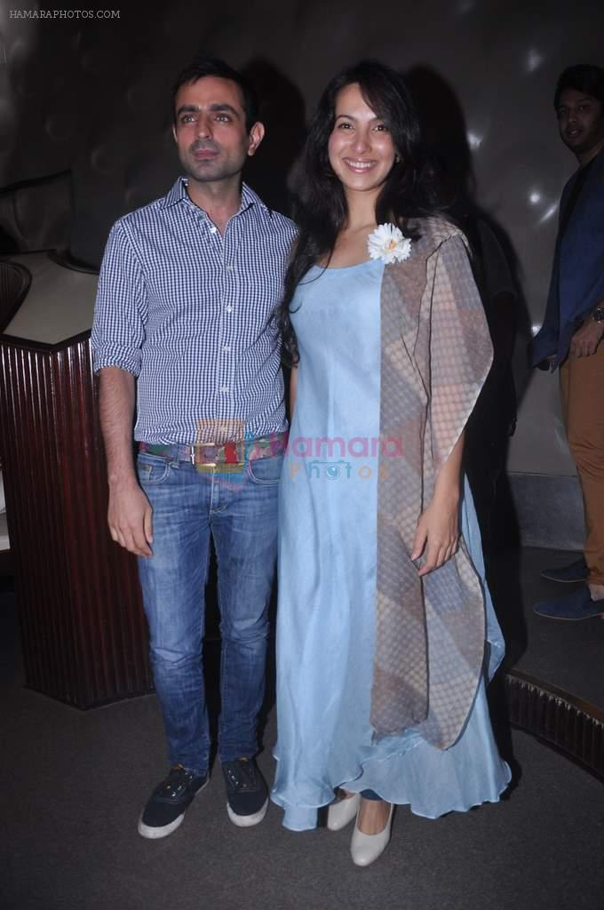 Shraddha Nigam, Mayank Anand at Lakme fashion week press meet in Mumbai on 10th July 2012
