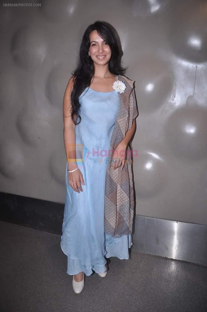 Shraddha Nigam at Lakme fashion week press meet in Mumbai on 10th July 2012