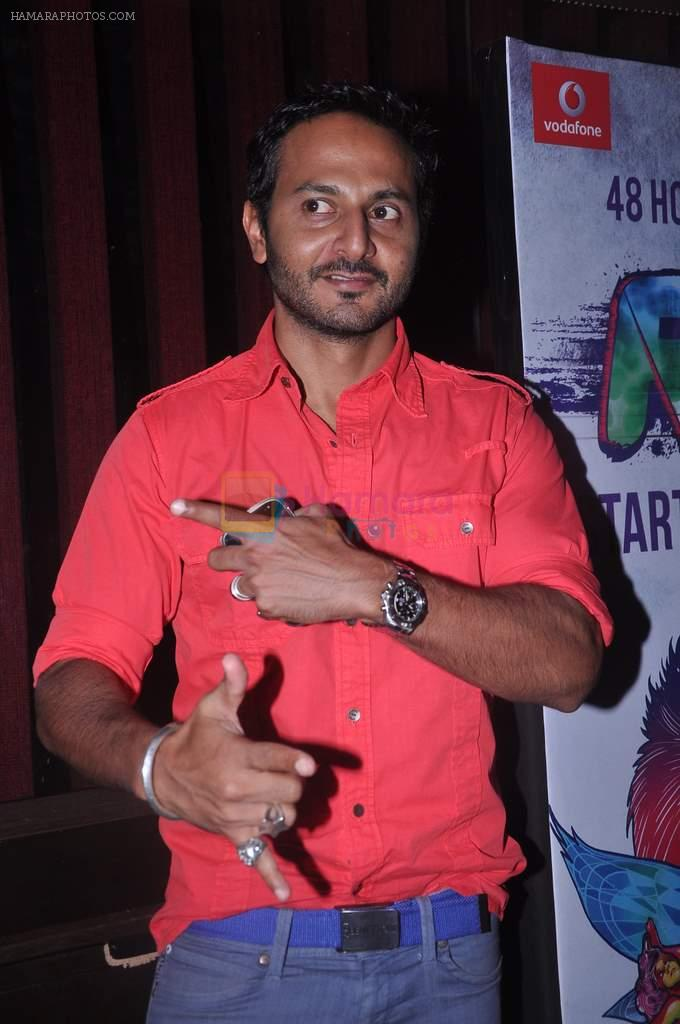Nikhil Chinapa at MTV Rush press meet in Red Ant Cafe, Mumbai on 10th July 2012