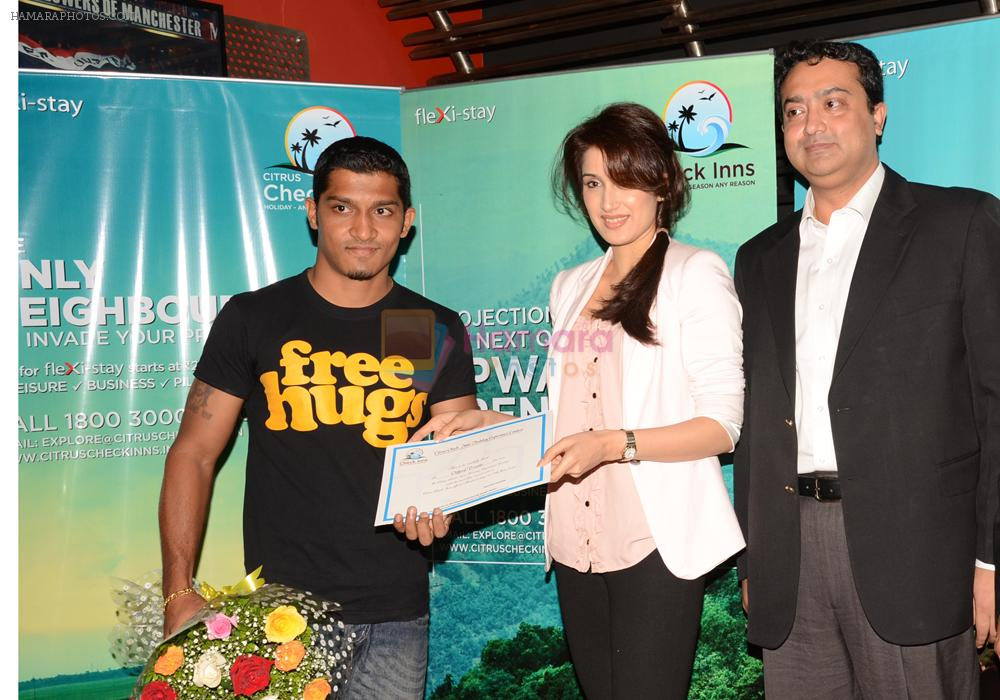 Sagarika Ghatge graces Citrus Checks Inn event in Mumbai on 11th July 2012