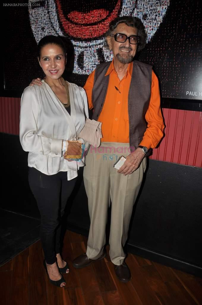 Apyque padamsee, Sharon Prabhakar at Ash Chandler's play premiere in Comedy Store, Mumbai on 11th July 2012