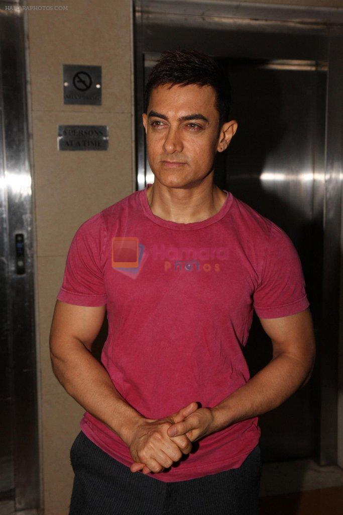 Aamir Khan at SMJ press conference in Yashraj Studio on 11th July 2012