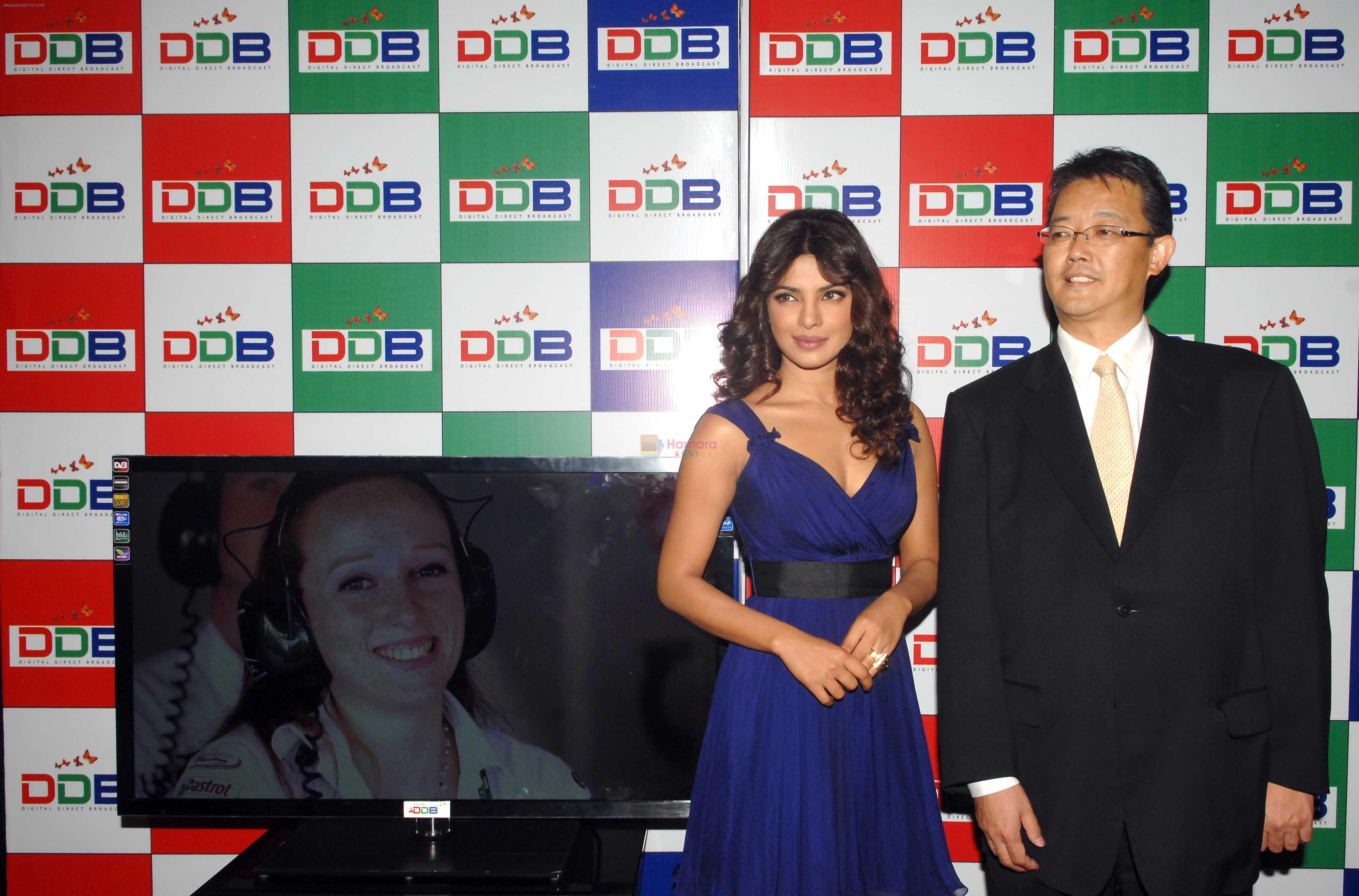 Priyanka Chopra launches Digital Direct Broadcasting in Taj Land Hotel, Bandra, Mumbai on 11th July 2012