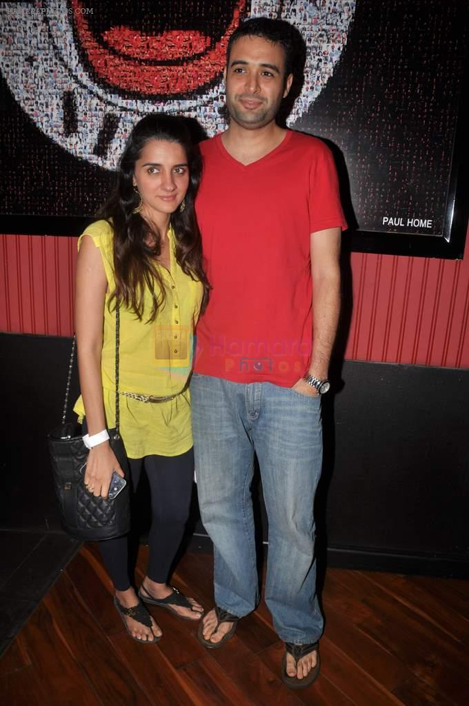 Shruti Seth at Ash Chandler's play premiere in Comedy Store, Mumbai on 11th July 2012